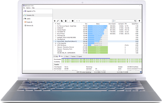 Download BitTorrent Classic for Desktop