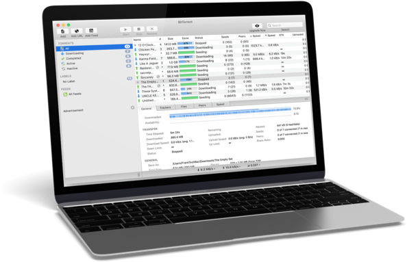 Download BitTorrent Web for your Mac computer